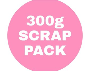 300g (approx) Mixed Fabric Scrap Bag
