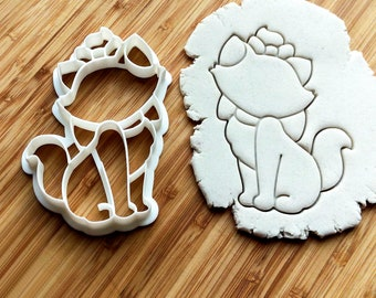 The Aristocats Cookie Cutter | Marie kitten | Baking supply | Cookie cutter | Craft kids | Clay cutters | Cartoon cookies |  Snowman