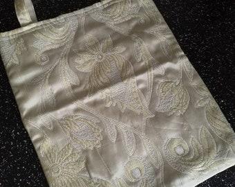Hand made knitting bag