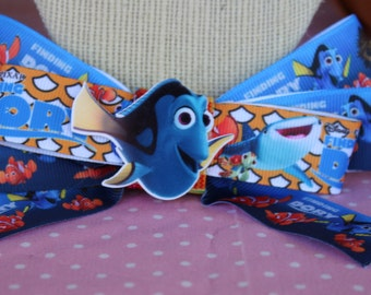 Finding Dori Inspired Hair Bow