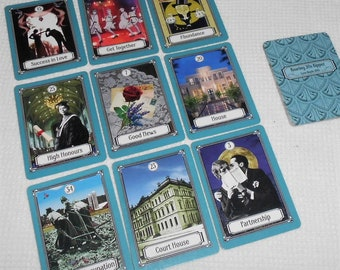 Roaring 20s Kipper (in 1920s version) Fortune Telling Cards. Brand New. Self Published.