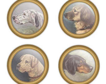 Coaster Set (Canine)
