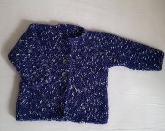 Ocher baby sweater