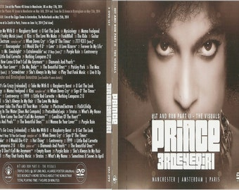 Prince hit n run 2014 3 dvd set excellent quality!