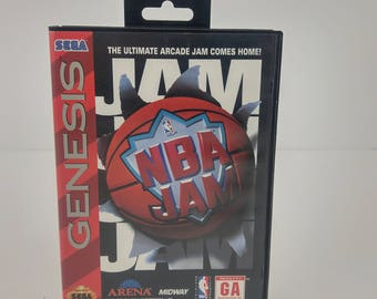 Sega Genesis NBA Jam Game Clean Tested Complete