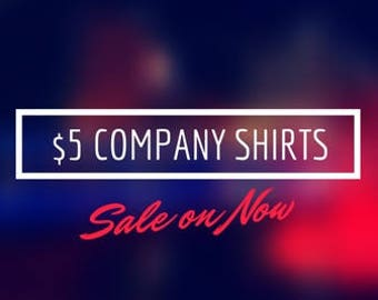 Black Friday Special!  Custom Company Shirts - Hanes ComfortSoft Shirts