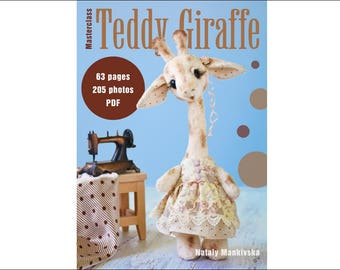Pattern and masterclass on teddy Giraffe tailoring in English