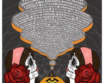 Suwannee Hulaween 2016 Music Festival Poster