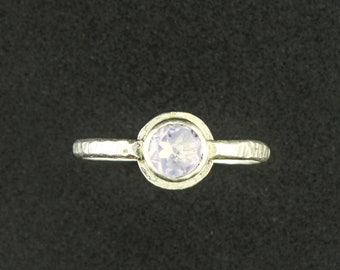 Sweet and Delicate Lavender Moonstone Ring