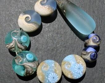 Lampwork Beads (9) Mix 10
