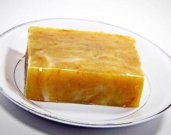 SANDALWOOD TURMERIC HOMEMADE Organic Natural Soap Bar, Soaps, Mens Soap, Fathers Day Gift, Detox soap, Handmade Natural Soap, Turmeric Soap
