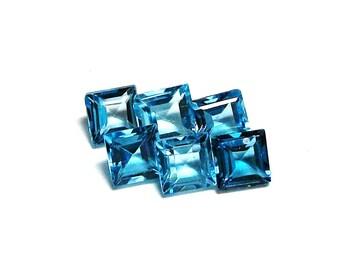 """Swiss blue topaz, princess blue topaz, topaz parcel, blue topaz gems, jewelry making,  jewelry designing, """"Blue Backs"""""""