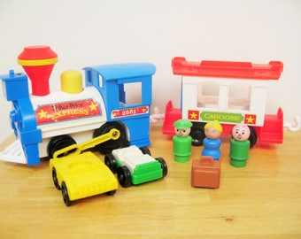 Vintage Fisher Price Train Express