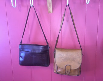 2 Tammy Brooke Genuine Leather Purses crossover & messeneger