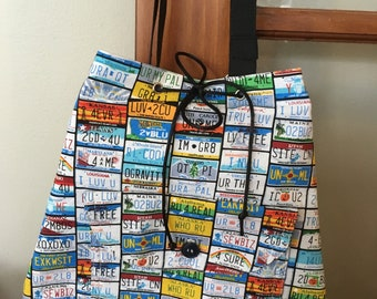 Vanity Licence Plate Purse