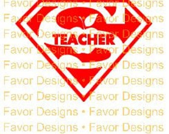 Super Teacher SVG JPEG Cut File Digital Download, T-shirt Transfer, Silhouette File, Circuit File, Nurse Svg, Stethoscope Svg, Clip Art, SVG