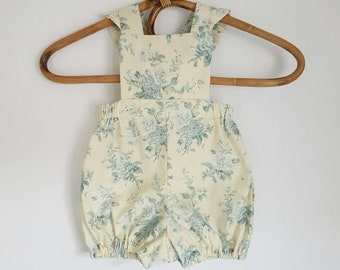 Country Rose Romper