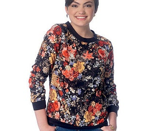 OUT of PRINT McCall's Pattern 7195 Misses' Tops