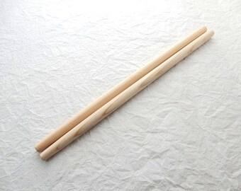 "Japanese Chef's tool,Hanasaibashi(Wooden Tempura Flour Chopsticks) 365mm/14.4"""