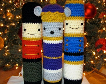 Crochet Patterns: Amigurumi Christmas - Nutcracker, Mouse King, Tin Soldier