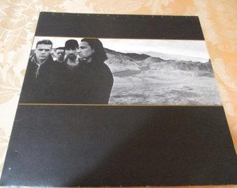 Vintage 1987 Vinyl LP U2 The Joshua Tree Excellent Condition 16349