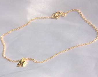 Letters anklet Multiple Initial Ankle Bracelet Name Anklet Gold, Personalized Anklet Bracelet, Custom Anklet Letter Anklet Anklets for Women