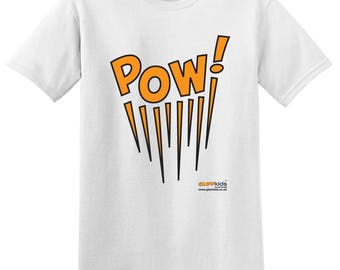 High Visibility POW! T Shirt