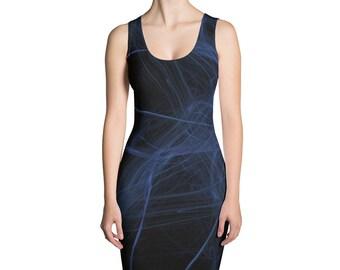 Black shaded,Sublimation Cut & Sew Dress,Prinful, Hand Sew, USA