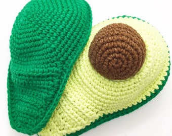 Avocado Crochet Pattern/Crochet Pattern/avocado pattern