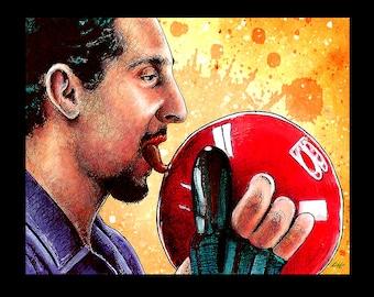 "Print 8x10"" - Jesus Quintana - The Big Lebowski The Dude Bowling Comedy John Turturro Steve Buscemi Jeff Bridges John Goodman LOL Pop"