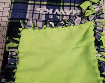 Seattle Seahawks Fleece Blanket- Small