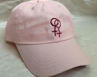Lesbian Pride Pink Cap