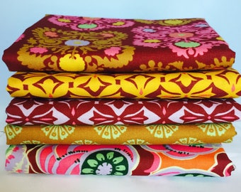 Amy Butler, Dreamweaver, 1 yard bundle, 5 pieces