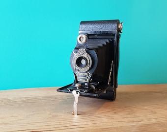 Kodak No.2 Folding Autographic Brownie - 1920's Bellows Camera - Working