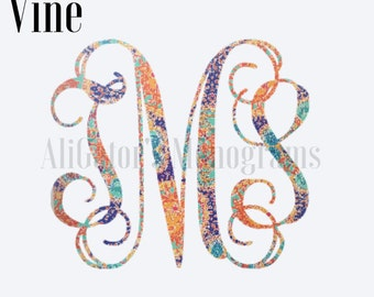 Lilly Pulitzer Car Decal/Monogram Car Decal/Personalized