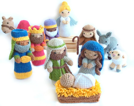 Free Amigurumi Nativity Pattern : Crochet nativity pattern amigurumi nativity pattern