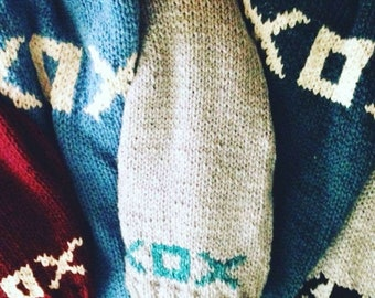 XOX Hugs n Kisses Handknit Sweaters