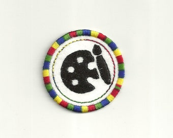"2"" Art Merit Badge! Custom Made!"