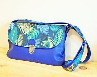 Tropical blue Tarlie purse