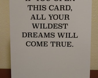 Wildest Dreams - Greeting Card