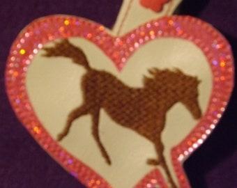 Horse Trotting KeyChain