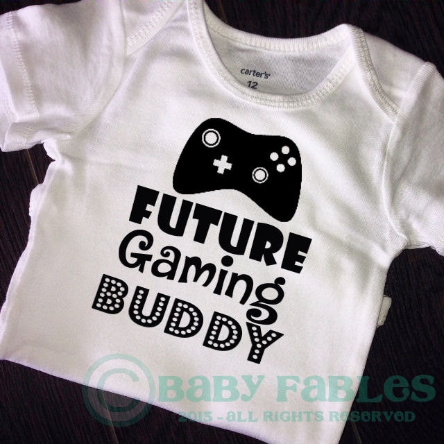Baby boy game outfit Baby Announcement bodysuit geeky baby