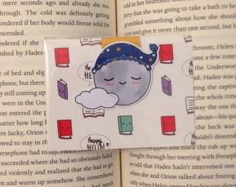 Magnetic Bookmarks • Sleepy Moon