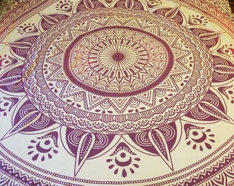 Mandala tapestry bedding, wall tapestries, mandala bedding, Boho Decor hippie bedding, wall decor, Mandala tapestry, mother's day gift