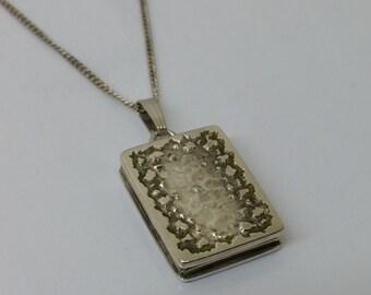 Nostalgic 835 silver Medallion book SK695