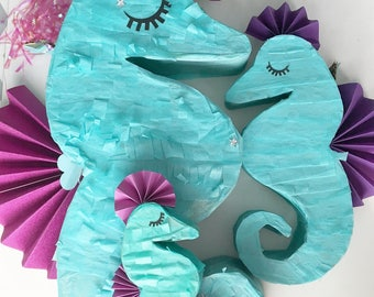 Seahorse (Mini, Medium, Large Piñata)