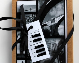 Black and white photographic prints from any occasion greeting cards