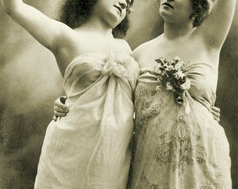 Two young actresses. Germany
