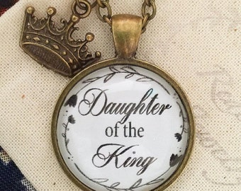 Daughter of the King pendant necklace