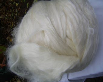 Lontwol Merino with Tussah sides available per 50 gram